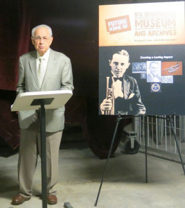 Howard Braren, president of the Bix Beiderbecke Museum.