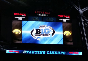 The success of Iowa's football team has generated more sales of merchandise.