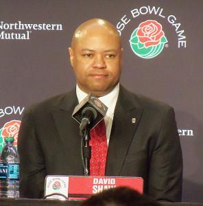 Stanford Coach Brian Shaw.