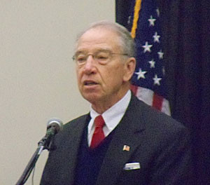 Chuck Grassley. (file photo)