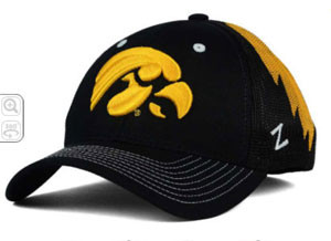 Retailers must get approval from the school to sell Hawkeye merchandise.