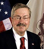 Governor Terry Branstad's official photo.