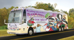 The Turnip Tour bus.