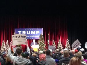 Donald Trump in Cedar Rapids.