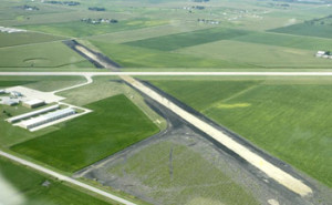 City photo of the Carroll Airport.