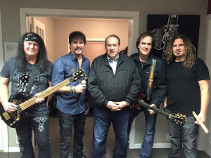 Mike Huckabee (center) with Firehouse.