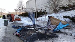 ISU-tent-fire