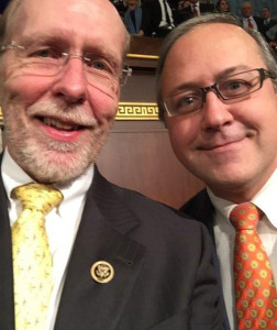 Congressmen Dave Loebsack and David Young. (L-R)