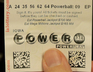 The Powerball jackpot went unclaimed in Saturday's drawing.