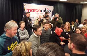 Marco Rubio in Ottumwa.