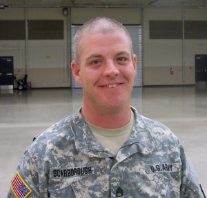 Staff Sergeant Justin Scarborough.
