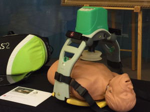An automated CPR device.