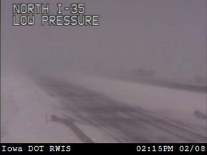 DOT camera view near Williams.