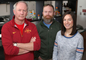 Iowa State researchers Kevin Schalinske, Matthew Rowling and Samantha Jones are working to improve the health of Type 2 diabetics by boosting vitamin D levels.