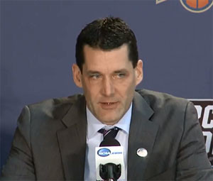 UNI coach Ben Jacobson.