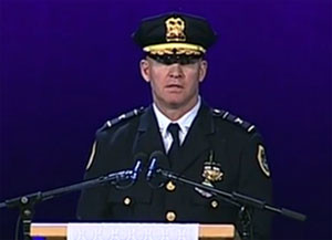 Des Moines Police Chief Dana Wingert.