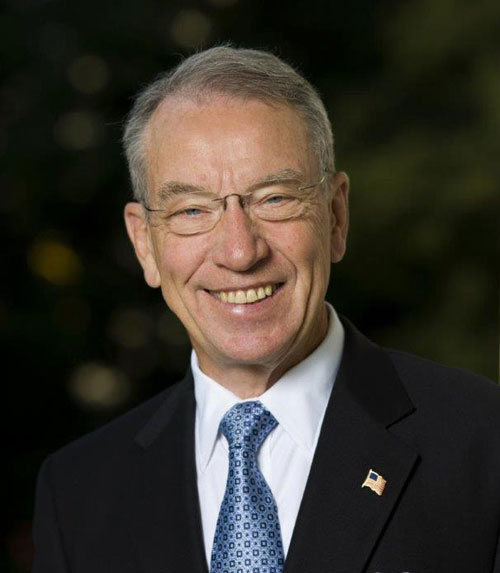 Ex- Lt. Gov. Judge launches bid against Iowa Sen. Grassley