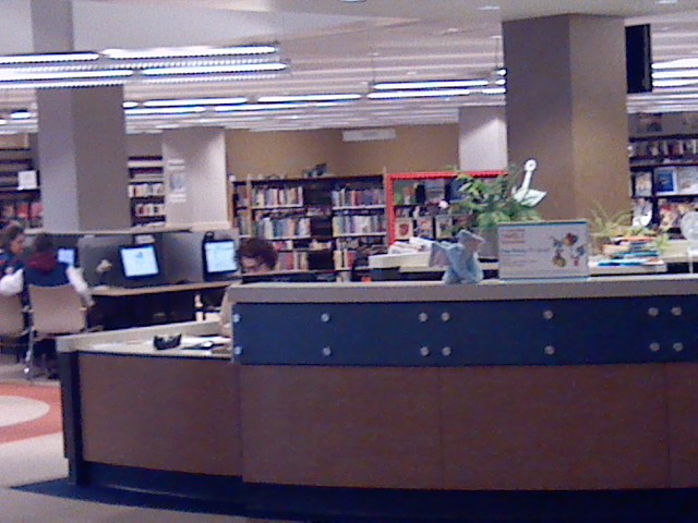 Sioux City Public Library (Photo by Woody Gottburg)