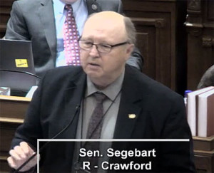 State Senator Mark Segebart.