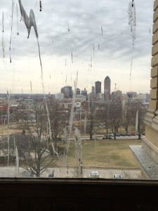 State Capitol window.
