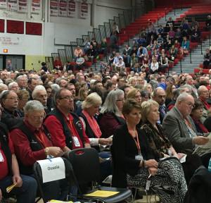Republican delegates.