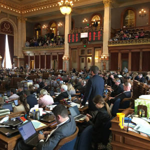 Members of the House debate the Rock Island Clean line bill.