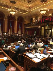 Iowa Senate chamber.