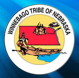 The Winnebago tribe flag.