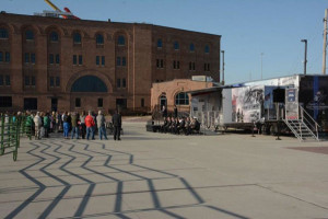 The 9/11 Never Forget Mobile Exhibit is in Sioux City.