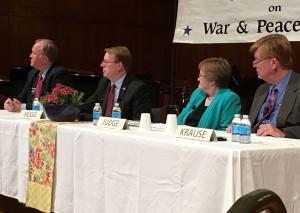 The Democrat Senate candidates at STAR PAC.