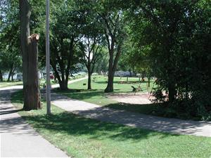 City of Dubuque website photo of Miller Park.