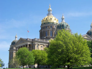 Des Moines remains the largest city in the state according to Census Data.