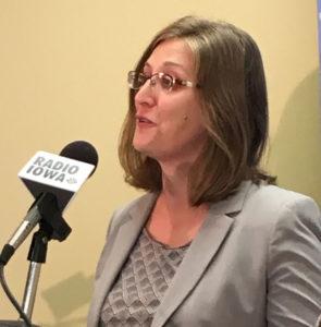 Rita Bettis, legal director for the ACLU of Iowa.