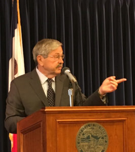 Governor Terry Branstad.