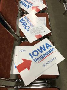 Democrat-signs