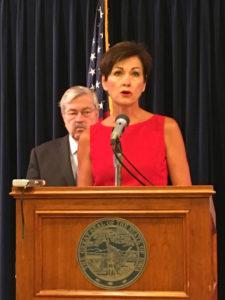 Lt. Governor Kim Reynolds. (file photo)