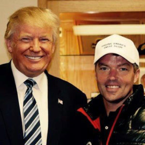 Donald Trump and Eric Branstad.