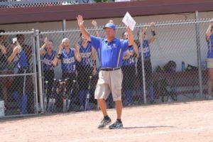 Benton coach Eric Stenberg