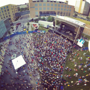Thousands attend the 80/35 concert series in Des Moines.