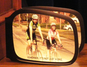 This DPS Brochure urges motorists to be more aware of bicyclists.