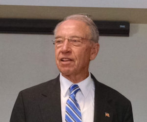 Senator Chuck Grassley (file photo)