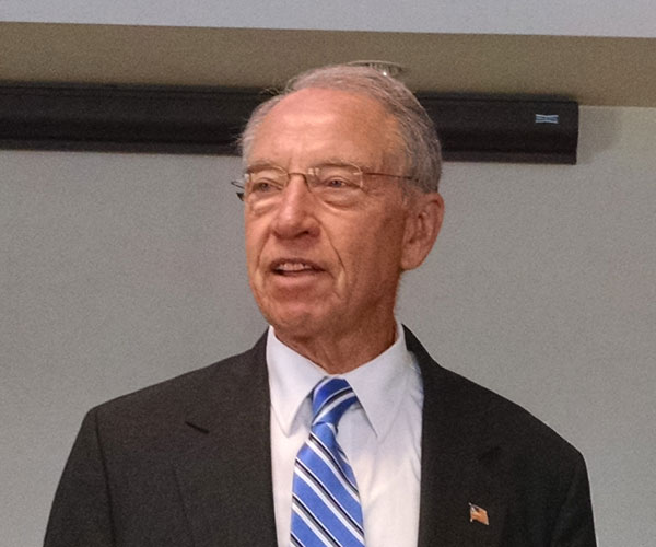 Senator Grassley wants Trump to unify party with his speech