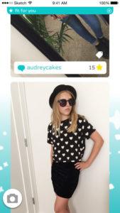The Cinderly app.