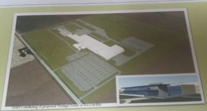 Proposed Prestage hog processing plant.