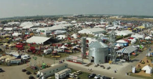 The grounds of the Farm Progress Show in Boone.