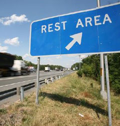 Rest-Area-Sign