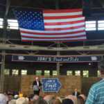 'We must come together,' Joni Ernst tells crowd at her 'Roast and Ride'