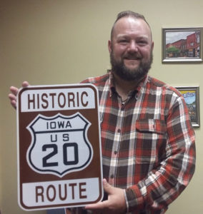 Bryan Farr of the Historic U.S. Route 20 Association.