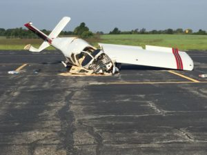 Two Iowans died in this plane crash near Lee's Summit, Missouri.
