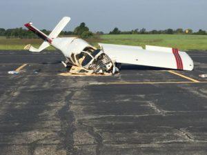 Two Iowans died in this plane crash near Lee's Summit, Missouri.
